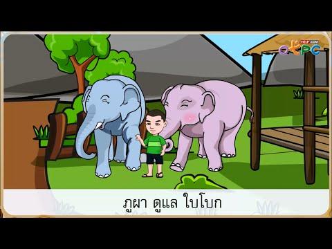 เพื่อนภูผา - สื่อการเรียนการสอน ภาษาไทย ป.1