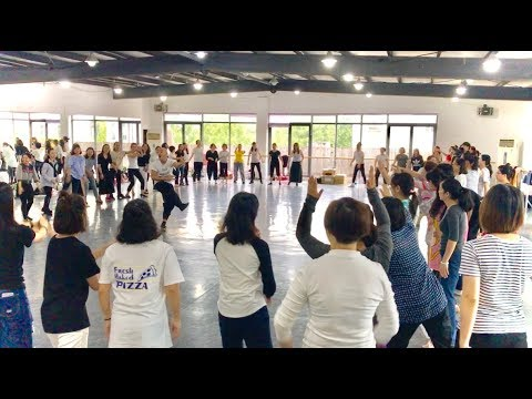 BODY PERCUSSION - Training for teachers in SHANGHAI (Part 1)