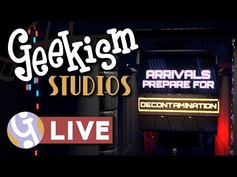 🔴 Subnautica Ride Exit Queue   Geekism Studios   Planet Coaster LIVE