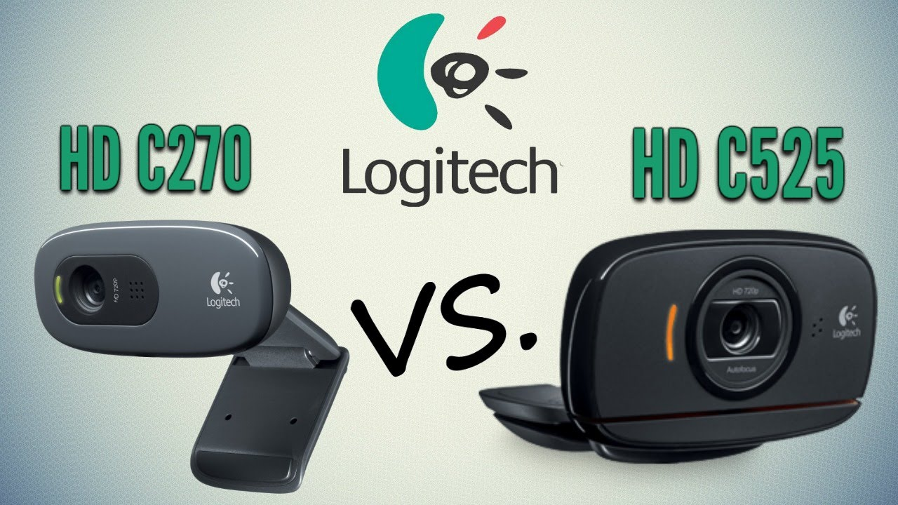fff5959f6a1 Webcam LOGITECH HD C270 VS. LOGITECH HD C525 Comparativa y diferencias en  español by Asuka - YouTube