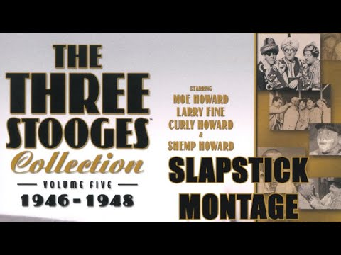The Three Stooges Volume 5 Slapstick Montage