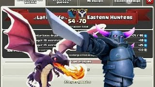 LATIN4LIFE-VS-EASTERN HUNTERS PARTE1 CLASH OF CLANS