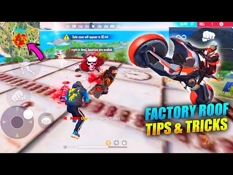Free Fire Factory Tricks OP Gameplay | King Of Factory Fist Fight 5 | Garena Free Fire - P.K. GAMERS