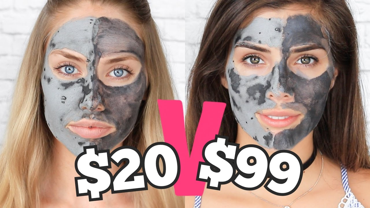 GLAM GLOW VS LOREAL // Blackhead Removal Masks TESTED