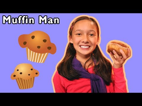 Muffin Man and More | Nursery Rhymes for Kids | Mother Goose Club!