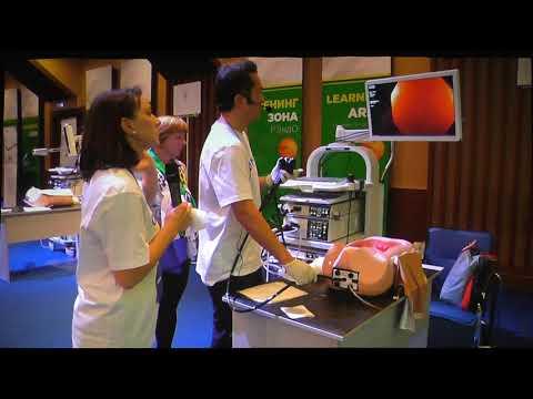 08 Yutaka Saito Мастер класс по технике колоноскопии