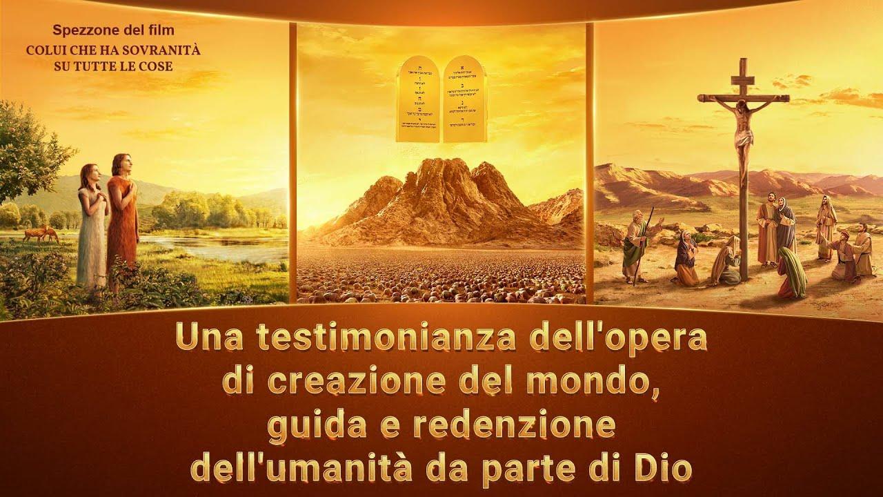 Una testimonianza dell'opera di creazione del mondo, guida e redenzione dell'umanità da pa