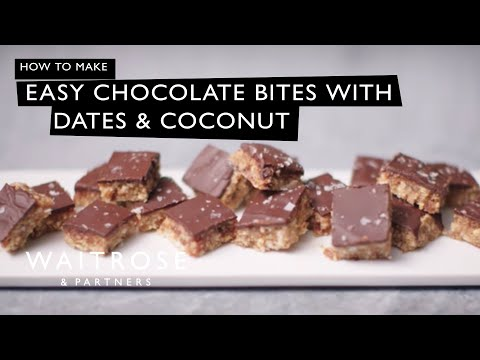 Easy Chocolate Bites with Dates and Coconut | Waitrose