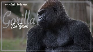 Gorilla Exhibit Tutorial! zoo tycoon 2 2014