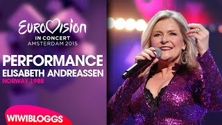 Live: Elisabeth Andreassen - I evighet (Norway 1996) @ Eurovision in Concert, Amsterdam | wiwibloggs