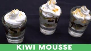 Kiwi Mousse | How To Make Kiwi Mousse | Foodies