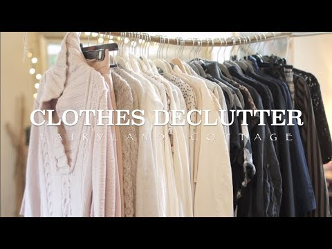 declutter how to get over feeling of waste