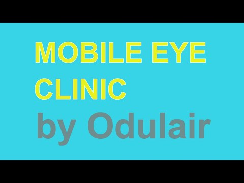 Mobile Eye Clinic for Sale