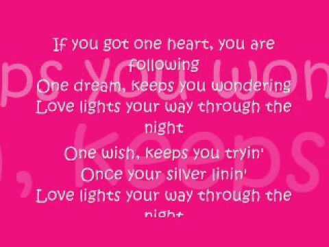 One Heart by Celine Dion - Lyrics