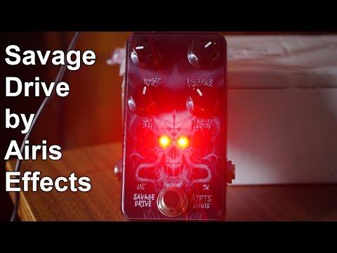 Guitar Pedal to  Metal -  SAVAGE OVERDRIVE | SpectreSoundStudios REVIEW