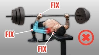 How To Bench Press Without Shoulder Pain (4 Mistakes You're Probably Making)