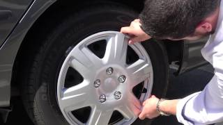 How to Remove & Install Hubcaps / Wheel Covers - Live Presentation by Tv Host Bill Confidence