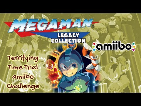 Mega Man Legacy Collection - Terrifying Time Trial amiibo Challenge |