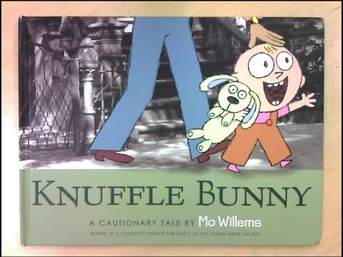 Knuffle Bunny- A Cautionary Tale by Moe Williams. narrated by Melody Rohlfs