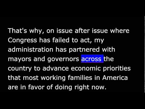 President Obama - Weekly Address - June 20, 2015 - New Pathways of Opportunity
