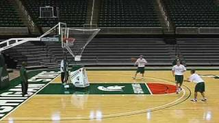 BasketBall Shooting Machine by Shoot-A-Way