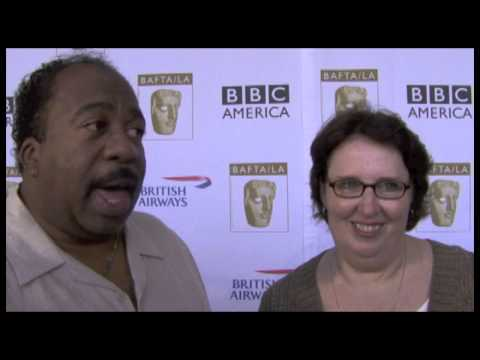 Leslie David Baker and Phyllis Smith Interview - The Office 6