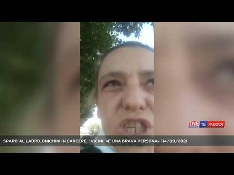 SPARO' AL LADRO, ONICHINI IN CARCERE, I VICINI: «E' UNA BRAVA PERSONA» | 14/09/2021