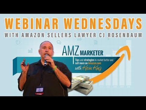 Webinar Wednesday with AMZ Marketer Kevin King