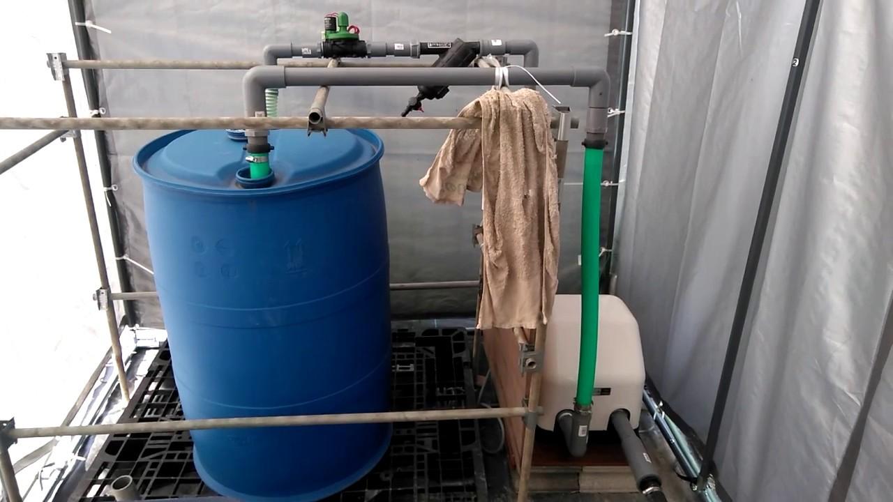 灌水設備の本運用開始 - YouTube