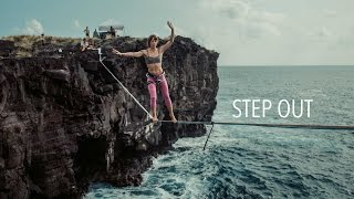 Step Out - Highline Slackline in Hawaii