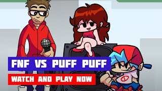 Friday Night Funkin' vs Puff Puff | FNF Mod | Web Browser Online Port
