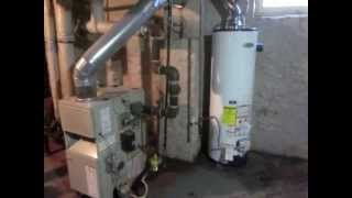 How to: Install new 40 gallon natural gas hot water tank.