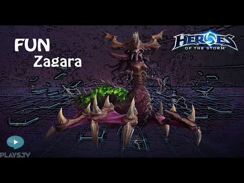 видео: heroes of the storm: top 1 eu (11 выпуск) - Загара