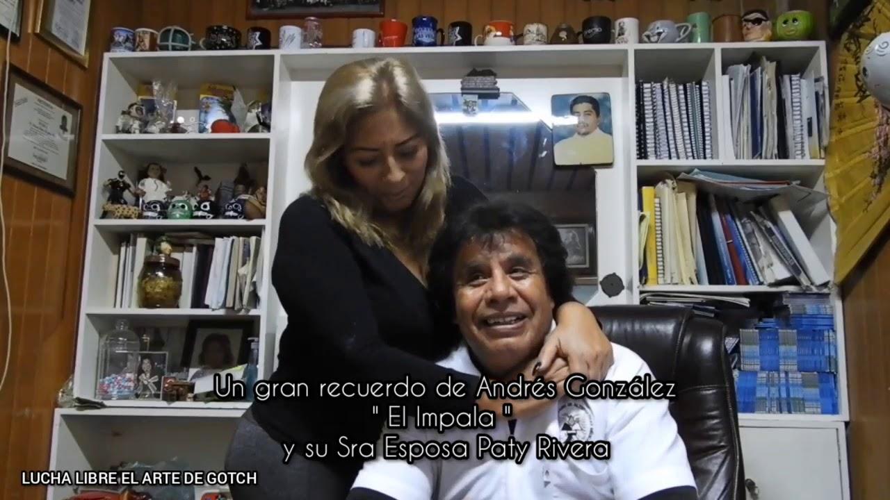 """Un gran recuerdo de Andrés González """" EL IMPALA """"  y su Sra Esposa."""