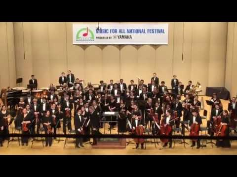 Honor Orchestra Of America 2017