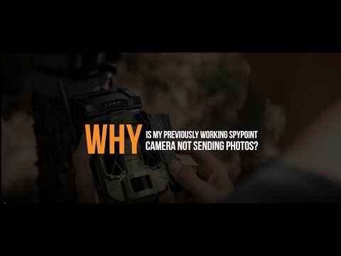 VIDEO: Why is my Previously Working SPYPOINT Camera Not Sending Photos