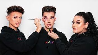 "HI SISTERS! Welcome back to another episode of Beauty Battles! This episode is featuring two of my FAVORITE young artists, SnatchedByJake & MakeupByRiquelle! They're new influencers but are insanely talented and I think are the future of the industry. Enjoy and don't forget to thumbs up and SUBSCRIBE!  FOLLOW JAKE » http://instagram.com/snatchedbyjake FOLLOW RIQUELLE » http://instagram.com/makeupbyriquelle  🎥 PREVIOUS VIDEO » https://youtu.be/qxrHmoCvoTE 👕 SISTER'S APPAREL » http://sisters-apparel.com 🛎 Subscribe to my channel to join the sisterhood & hit the notification bell so you never miss an upload! » http://bit.ly/JamesCharles for new videos!  __  ❤️ LET'S BE BFFS INSTAGRAM » http://instagram.com/jamescharles TWITTER » http://twitter.com/jamescharles SNAPCHAT » jamescharless __  💸 COUPON CODES 💸  MORPHE BRUSHES » http://morphebrushes.com Use code ""JAMES"" for 10% off all products online AND in store!  UBER » Use code ""SISTERJAMES"" for $5 off your first 3 rides!  LILLY LASHES » https://lillylashes.com/ Use code ""JAMES"" for 15% off all lashes  LAURAS BOUTIQUE » http://lauras-boutique.com Use code ""JAMES"" for 10% off all items  SKINDINAVIA » http://skindinavia.com Use code ""JAMES"" for 25% off all products   __  ♡ MY AMAZING TEAM  EDITOR: Louis & Anthony Gargiula http://instagram.com/louisgargiula http://instagram.com/anthonygargiula  CONTENT COORDINATOR: Eros Gomez http://instagram.com/erosmua  GRAPHICS: Michael Rusakov http://instagram.com/michael.ny"