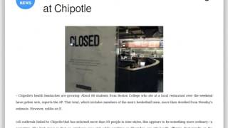 Press review: 80 Boston Students Sick After Eating at Chipotle
