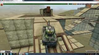 Tanki online-parkour level 3[№2]