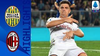 Hellas Verona 0-1 Milan | Decide Piątek su rigore, il Milan batte un Hellas in 10 uomini | Serie A