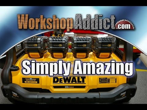DEWALT 1800 Watt Portable Power Station Testing - DCB1800