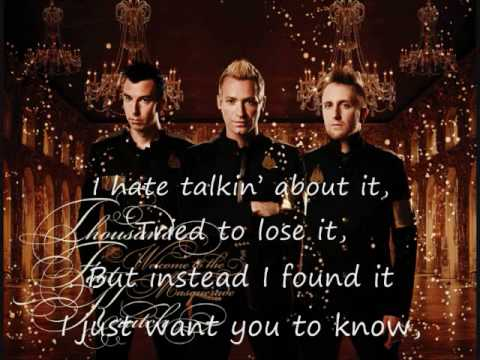 The Part That Hurts The Most (Is Me) - Thousand Foot Krutch (Lyrics)