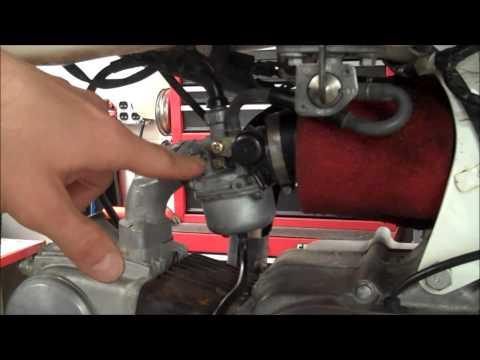 How-To: Carburetor Idle & Pilot Screw Adjustment Honda XR70