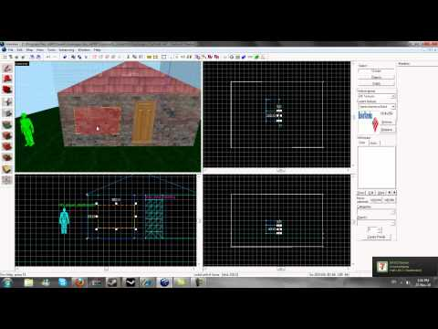 Source SDK Hammer Editor Tutorial #2 Basics (windows / glass)