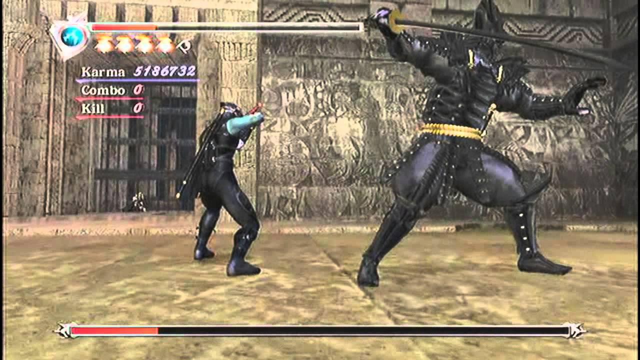 Ninja Gaiden Fiend Ryu Costume Gameplay Vs Doku Youtube