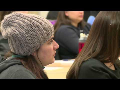 Teens and elders bridge generation gap and digital divide