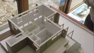 """Frank Lloyd Wright Taliesin 1/4"""" Scale Model House - Contemporary Home Design"""