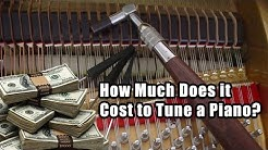 How Much Does it Cost to Tune a Piano?
