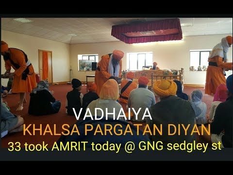 The power of amrit | Pragetyo Khalsa Simran Jaap 2018
