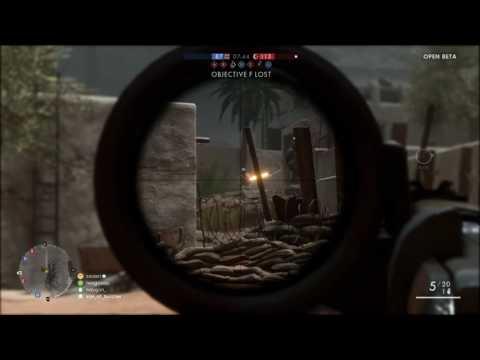Battlfield 1 BETA | NAJA Sniper Team